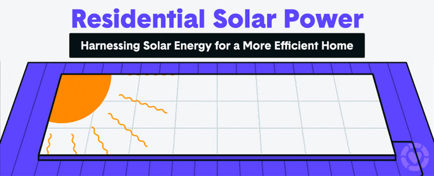 How Residential Solar Energy Works [Infographic] | ecogreenlove