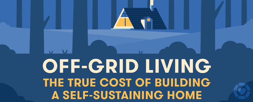 The true Cost of Living Off the Grid [Infographic]   ecogreenlove