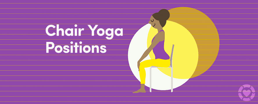 Yoga Chair Positions [Infographic] | ecogreenlove