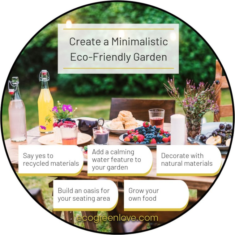 Create a Minimalistic Eco-Friendly Garden | ecogreenlove