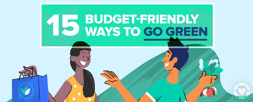 Budget-friendly Ways to Go Green [Infographic] | ecogreenlove