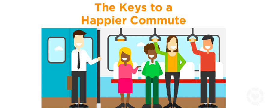 Keys to a Happier Commute [Infographic] | ecogreenlove