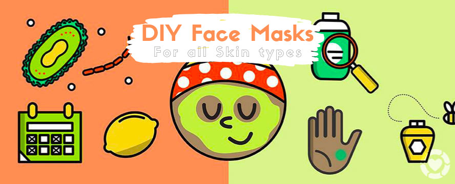 Do's and Don'ts of DIY Masks + Recipes [Infographic] | ecogreenlove