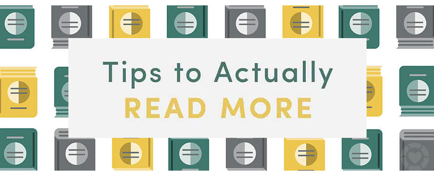 Tips to actually Read more + Benefits [Visual]
