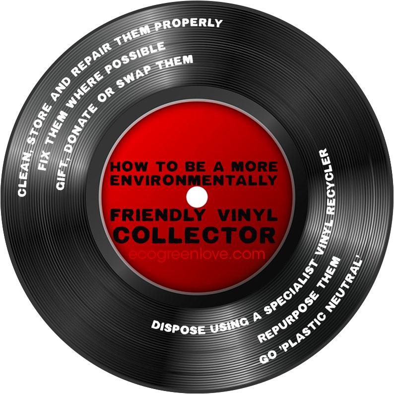 Practical Ways to be an Environmentally-Friendly Record Collector [Visual]   ecogreenlove