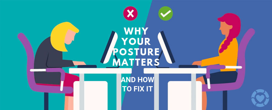 Why your Posture matters and How to Fix it [Infographic] | ecogreenlove