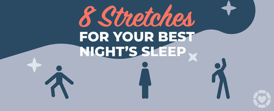 Stretches to help your Sleep [Infographic] | ecogreenlove