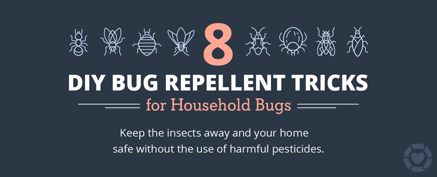 Natural Bug Repellent Solutions [Infographic] | ecogreenlove