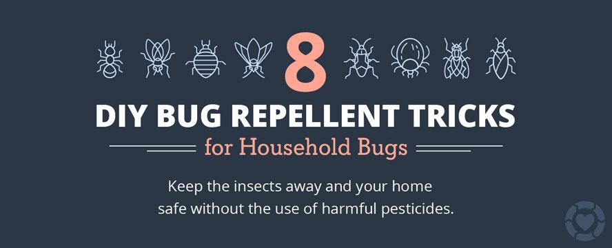 Natural Bug Repellent Solutions [Infographic] | ecogreenlove