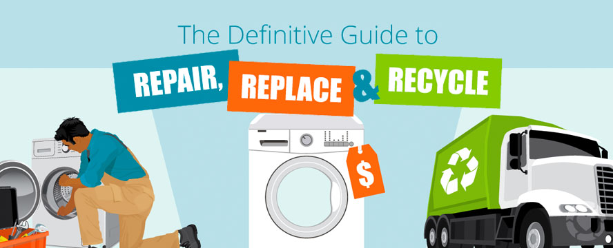 When to Repair, Replace or Recycle your Appliance [Video + Infographic] | ecogreenlove