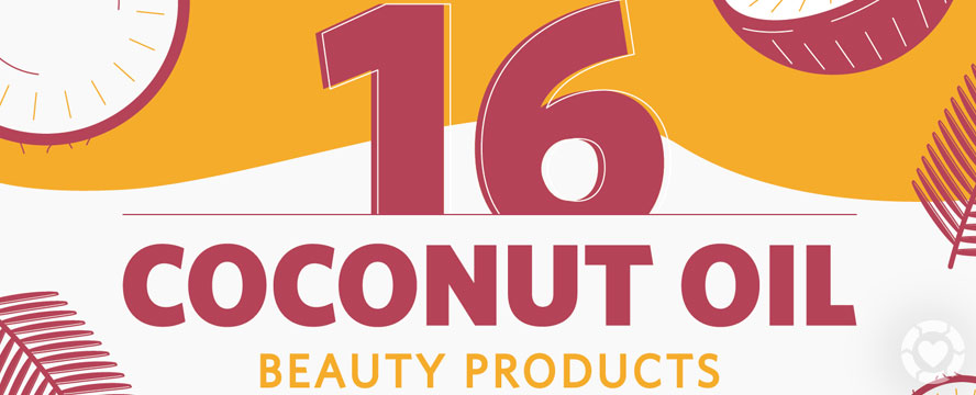 DIY Coconut Oil Beauty Recipes [Infographic] | ecogreenlove