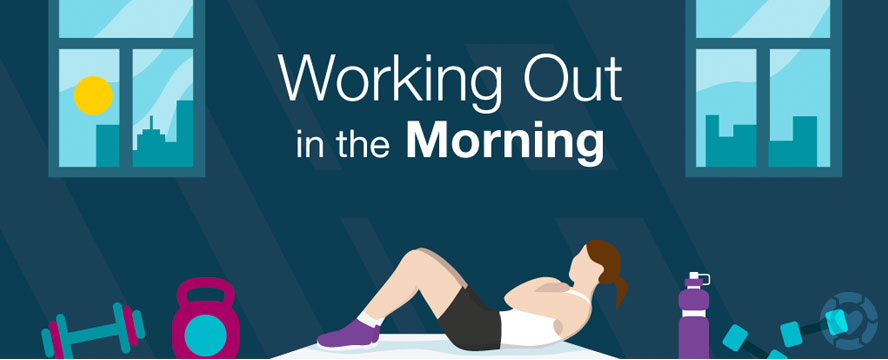 Benefits of a Morning Workout routine [Visual] | ecogreenlove
