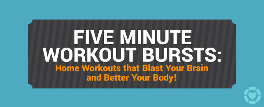 5 Minute Workout Bursts [Visual] | ecogreenlove