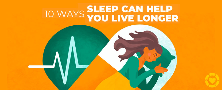 10 ways Sleep can extend your Life [Infographic] | ecogreenlove