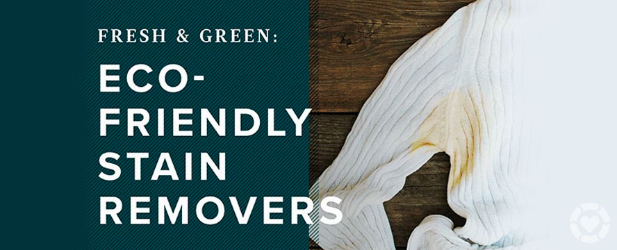Fresh and Green: Eco-Friendly Stain Removers | ecogreenlove