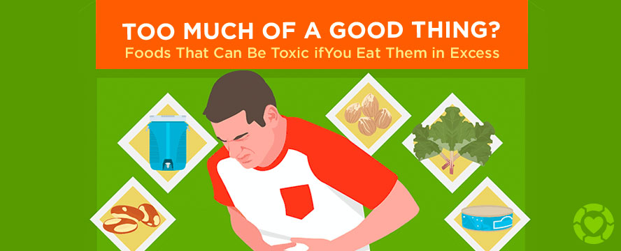 Foods that can be Toxic if you eat them in Excess [Visual] | ecogreenlove