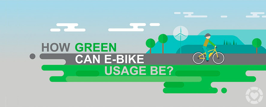 Can E-bikes help the Environment? [Infographic] | ecogreenlove