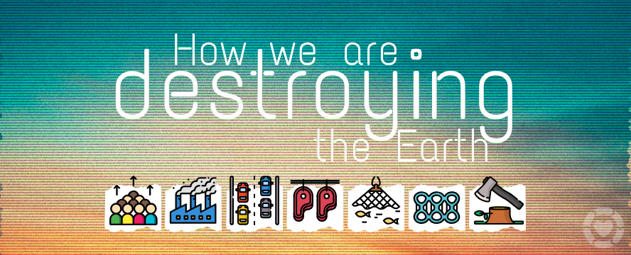 7 Visualisations that demonstrate How we Humans are Destroying Earth | ecogreenlove
