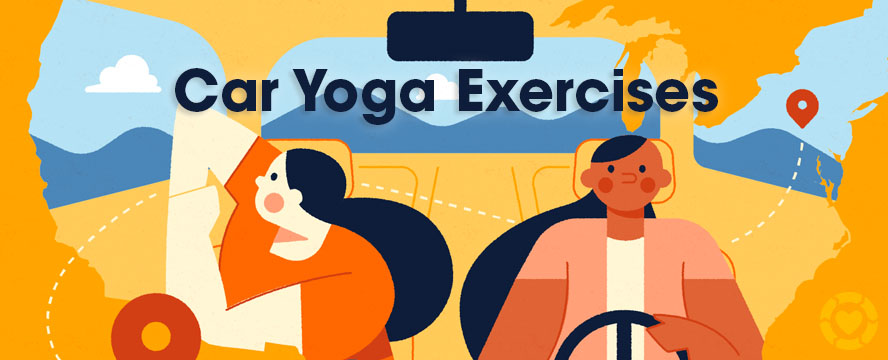 11 Yoga Exercises to do in the Car | ecogreenlove