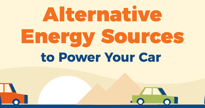 Alternative Energy Sources to Power your Car [Animated Visual] | ecogreenlove