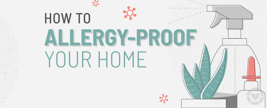 How to Allergy-Proof your Home [Visual] | ecogreenlove