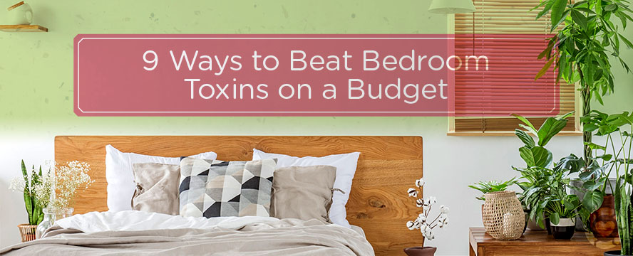 Beat Bedroom Toxins on a Budget [Visual] | ecogreenlove