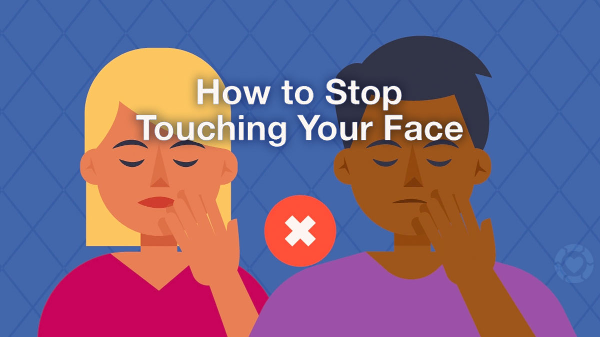 How to Stop Touching your Face [Visual] | ecogreenlove
