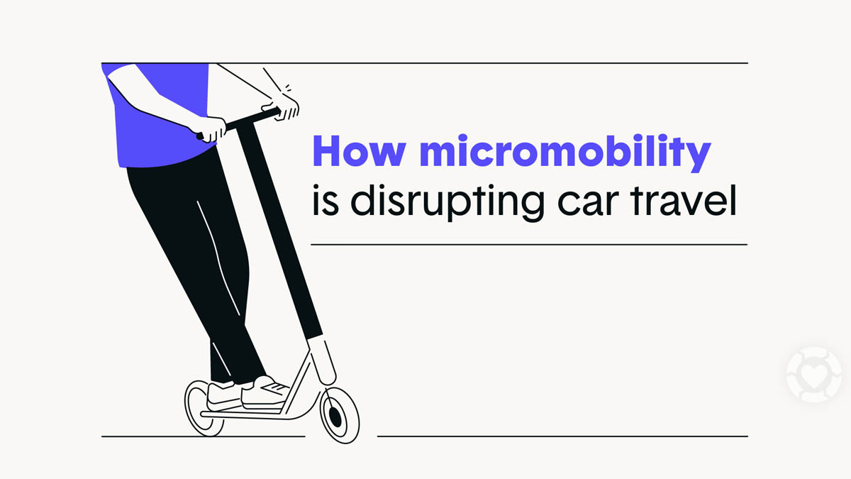 How micromobility is disrupting car travel [Infographic] | ecogreenlove