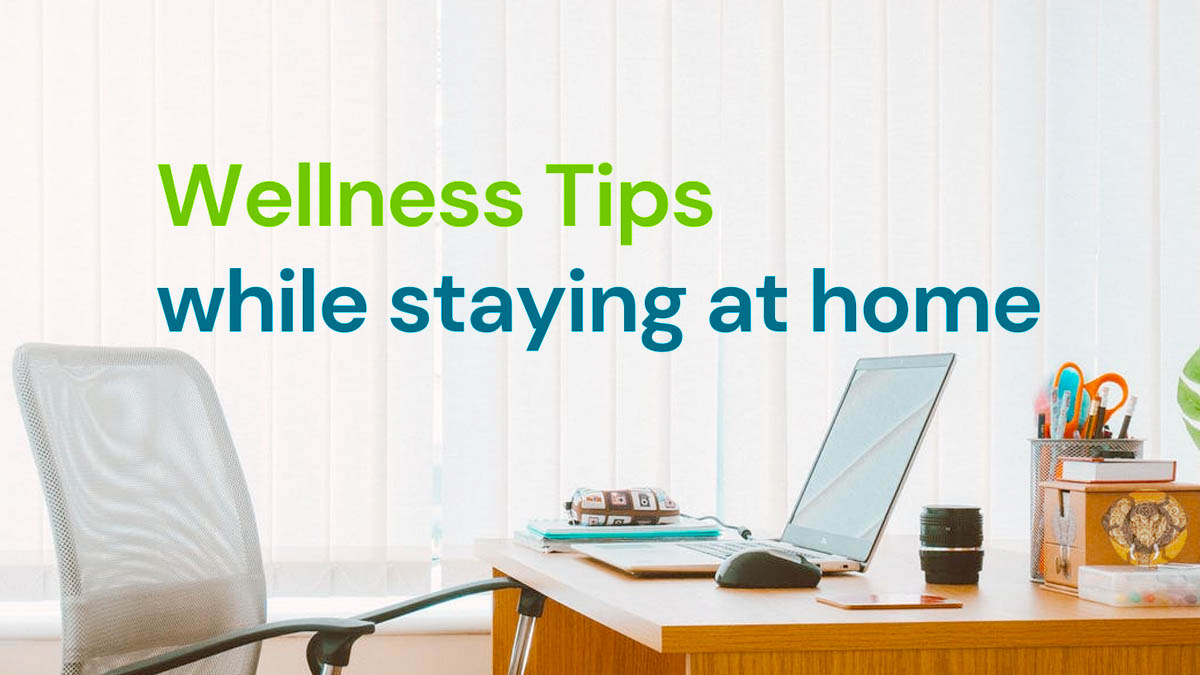 Wellness Tips while Staying at Home [Visual] | ecogreenlove