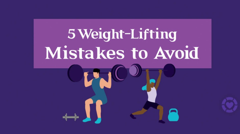 5 Weight-Lifting Mistakes to Avoid [Visual] | ecogreenlove
