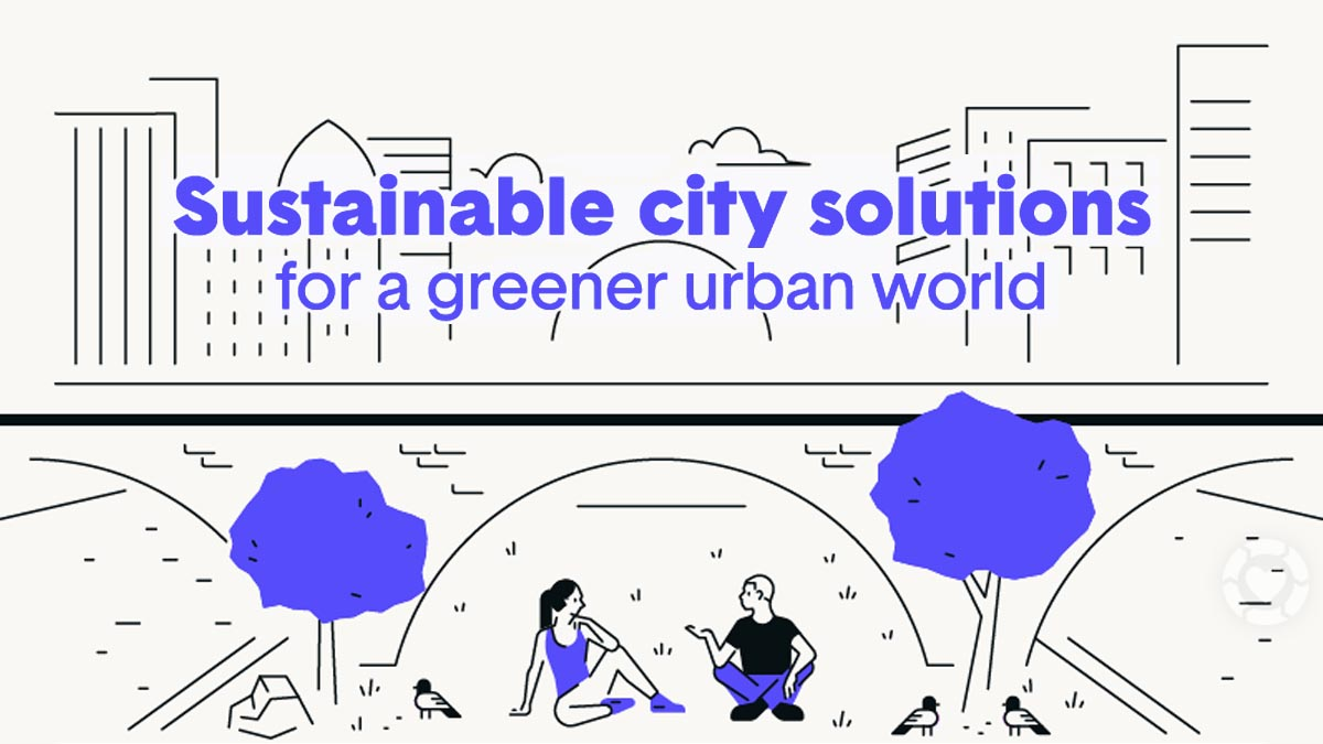 Sustainable City Solutions [Infographic] | ecogreenlove