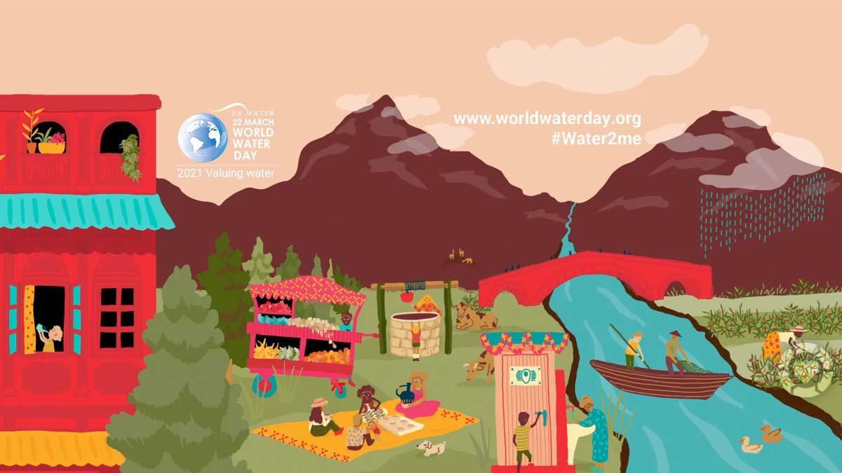 World Water Day • Valuing Water | ecogreenlove