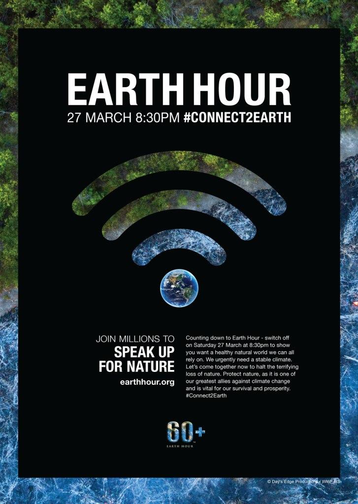 "Earth Hour ""Virtual Spotlight"" | ecogreenlove"