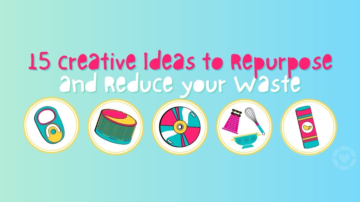 Upcycling Day 💚 15 Creative Ideas to Repurpose | ecogreenlove