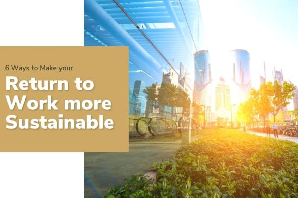 6 Ways to Make your Return to Work more Sustainable | ecogreenlove