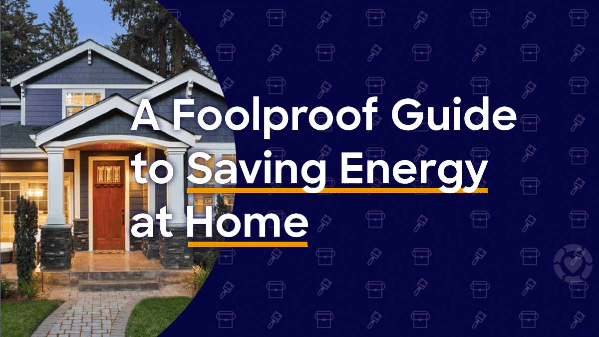 Guide to Saving Energy at Home [Visual + Printable Tracker] | ecogreenlove