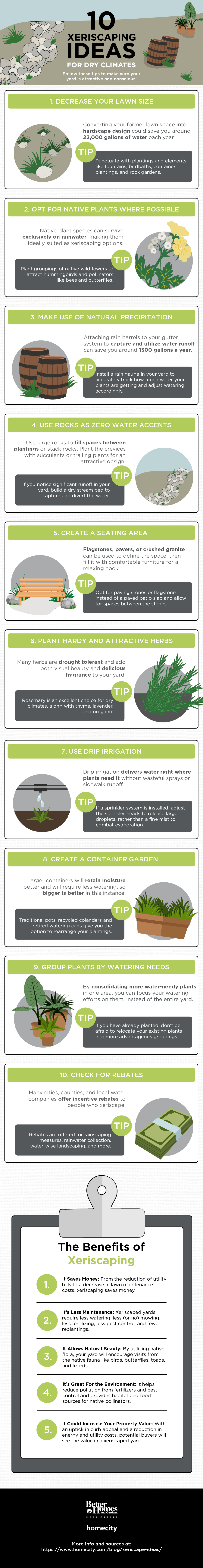 10 Xeriscaping Ideas for Dry Climates [Visual]   ecogreenlove