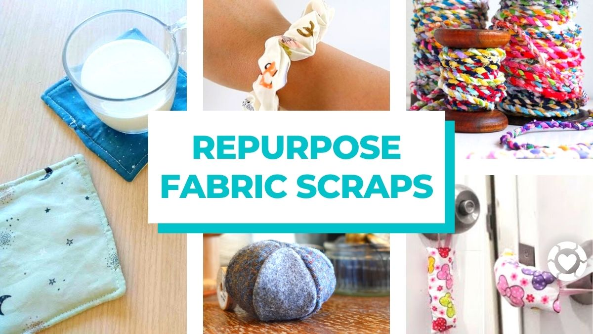 Repurpose Fabric Scraps | ecogreenlove