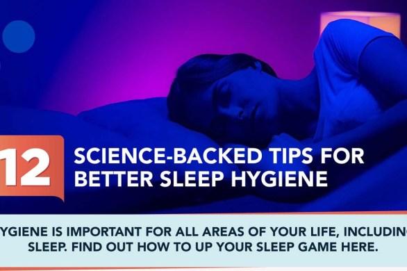 12 Tips for Better Sleep Hygiene [Visual]   ecogreenlove