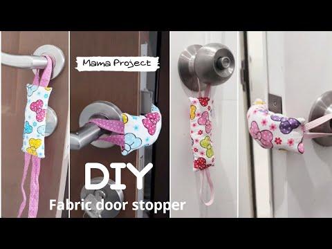 Repurpose Fabric Scraps • Door stopper | ecogreenlove
